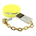 USB2.0対応フラッシュメディア Macaronシリーズ イエロー 8GB 永...