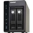 QNAP TurboNAS TS-253Pro 4TB HDD搭載モデル (WD ミドルクラス 2TB HDD x 2 搭載) T253P2MW20
