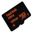microSDXC 128GB バルク品 SDSDQUA-128G