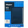 _ MAXTOR 2.5インチ USB3.0ポータブルHDD 2TB ブラック HX-M201TCB/GMR