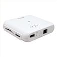 Wi-Fi SD�J�[�h���[�_�[ 5GHz�Ή� 433Mbps���f�� (�z���C�g)...
