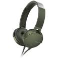 ステレオヘッドホン グリーンMDR-XB550AP/G(SONY)