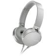 ステレオヘッドホン グレイッシュホワイトMDR-XB550AP/W(SONY)