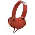 ステレオヘッドホン レッドMDR-XB550AP/R(SONY)