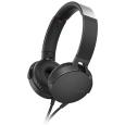 ステレオヘッドホン ブラックMDR-XB550AP/B(SONY)