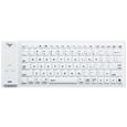 Bluetoothシリコンキーボード(ホワイト)  SKB-BT14W...