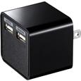 USB�[�d��i2�|�[�g�E���v3.4A�E�u���b�N�j  ACA-IP39BK...