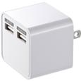 USB�[�d��i2�|�[�g�E���v3.4A�E�z���C�g�j  ACA-IP39W...