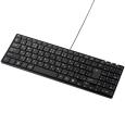 USBスリムキーボード(ブラック)  SKB-SL17BKN...
