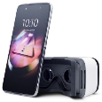 IDOL4 AL JAPAN METAL SILVER VR 6055D-2AALJP7-5(ALCATEL)