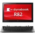 東芝 dynabook R82/T:Core m5-6Y54、4GB、128GB_SSD、タッチパネル付12.5FHD、WLAN、10 Pro 64、Office無 PR82TEGDC47AD11