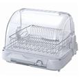 コイズミ 食器乾燥器・銀イオン加工で抗菌・清潔 ホワイト KDE4000W